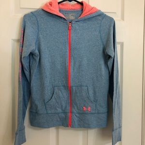 Under Armour Youth Hoodie Blue Size Extra Large